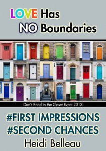 First Impressions Second Chances by Heidi Belleau