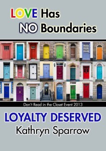 Loyalty Deserved - Kathryn Sparrow - P copy